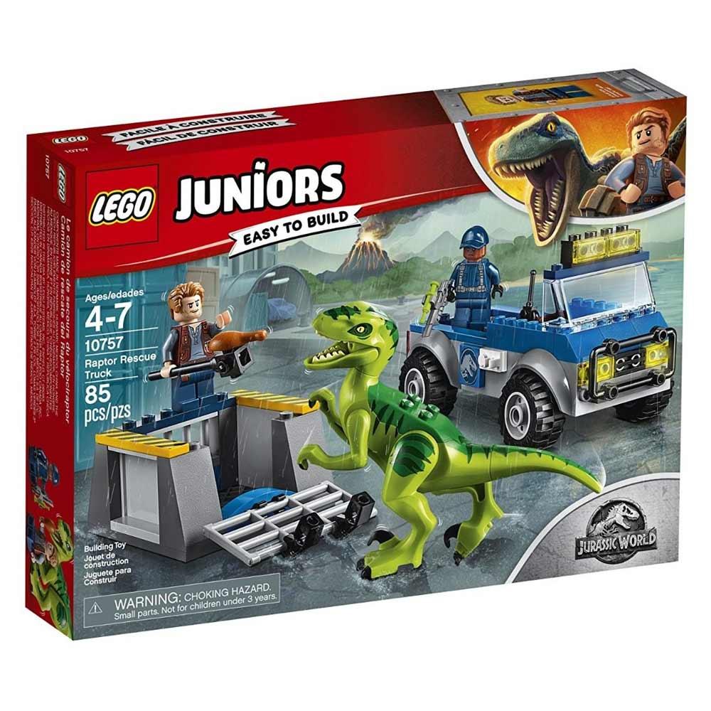 <b>Конструктор LEGO Juniors</b> Спасательный грузовик раптора ...