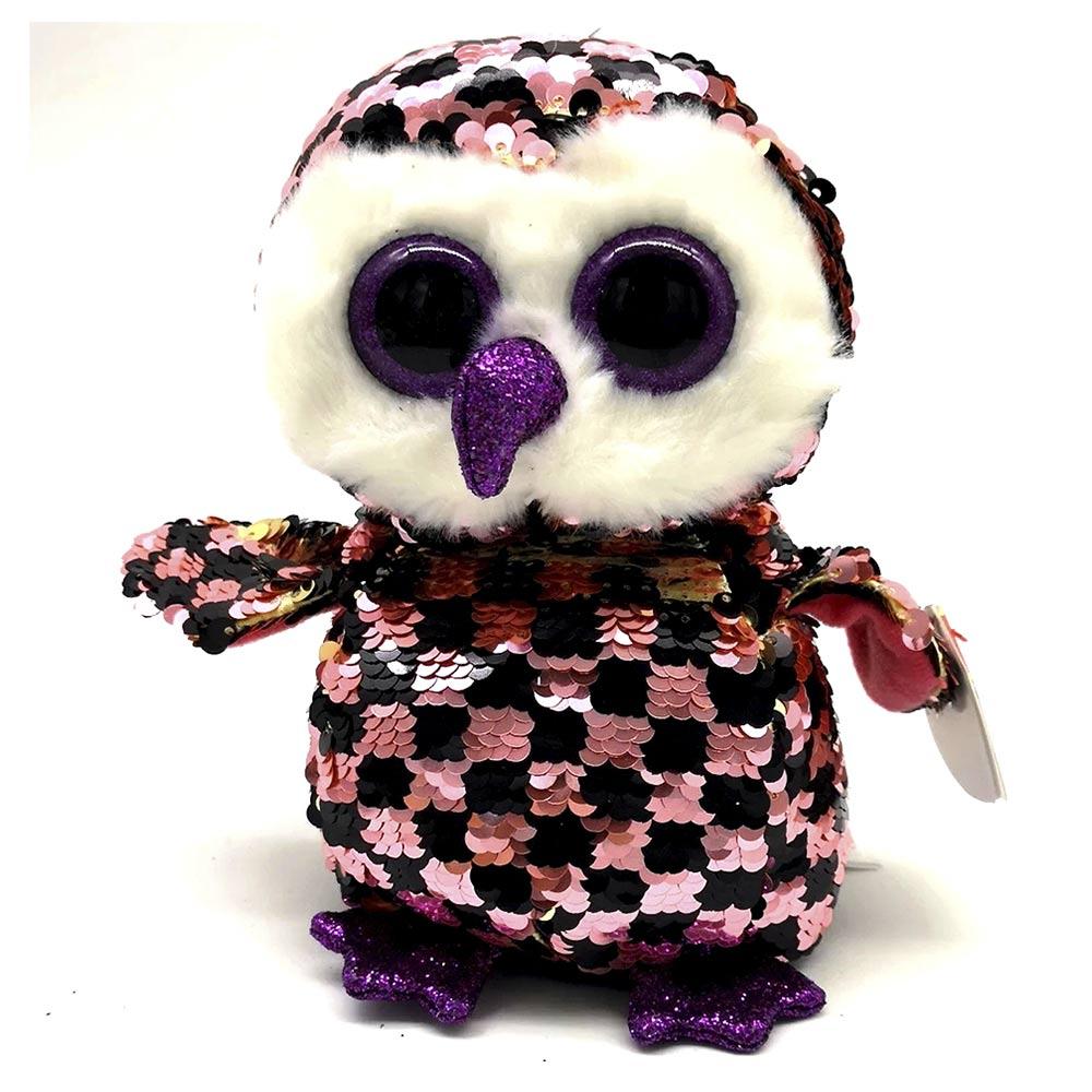 мягкая игрушка Ty Flippables сова чекс 25 см 36785 будинок іграшок купить в киеве харькове одессе днепре по выгодной цене