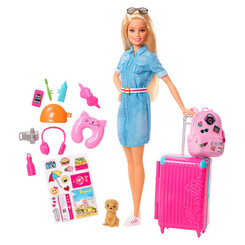 Куклы - Набор Barbie Travel Set (FWV25)