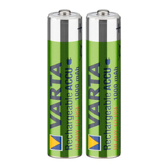 Батарейки - Акумулятор VARTA Rechargeable accu AAA 1000mAh BLI 2 NI-MH Ready 2 USE (5703301402)