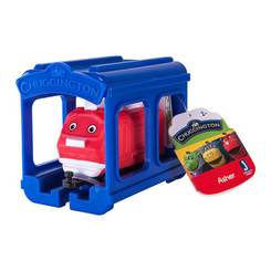 Железные дороги и поезда - Паровозик Jazwares Chuggington Ашер с гаражом (JW10566/38620/10589)