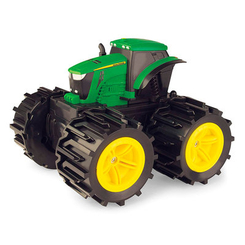 Транспорт и спецтехника - Машинка Tomy John Deere Monster treads Трактор с большими колесами (46645)