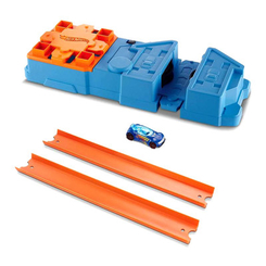 Автотреки, паркинги и гаражи - Трек Hot Wheels Track builder Booster pack с ускорителем (GBN81)