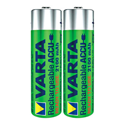 Батарейки - Акумулятор VARTA RECHARGEABLE ACCU AA 2100mAh BLI 2 NI-MH READY 2 USE (56706101402)