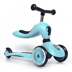 Самокати - Самокат-біговел Scoot and Ride Highwaykick-1 Лохина (SR-160629-BLUEBERRY)