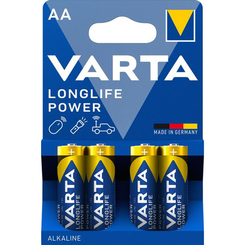 Батарейки - Батарейки VARTA High Energy/Longlife Power AA BLI 4 шт алкалінові (4008496559435)