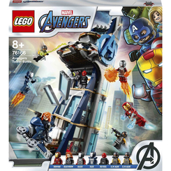 Конструкторы LEGO - Конструктор LEGO Marvel super heroes Бой в башне Мстителей (76166)