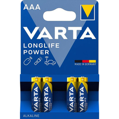 Батарейки - Батарейки VARTA High Energy/Longlife Power AAA BLI 4 шт алкалінові (4008496559749)