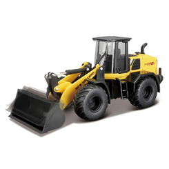 Транспорт и спецтехника - Экскаватор Bburago Construction New Holland W170D (18-32083)
