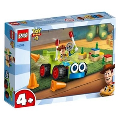 Конструктори LEGO - Конструктор LEGO Juniors Toy Story 4 Вуді на машині (10766)