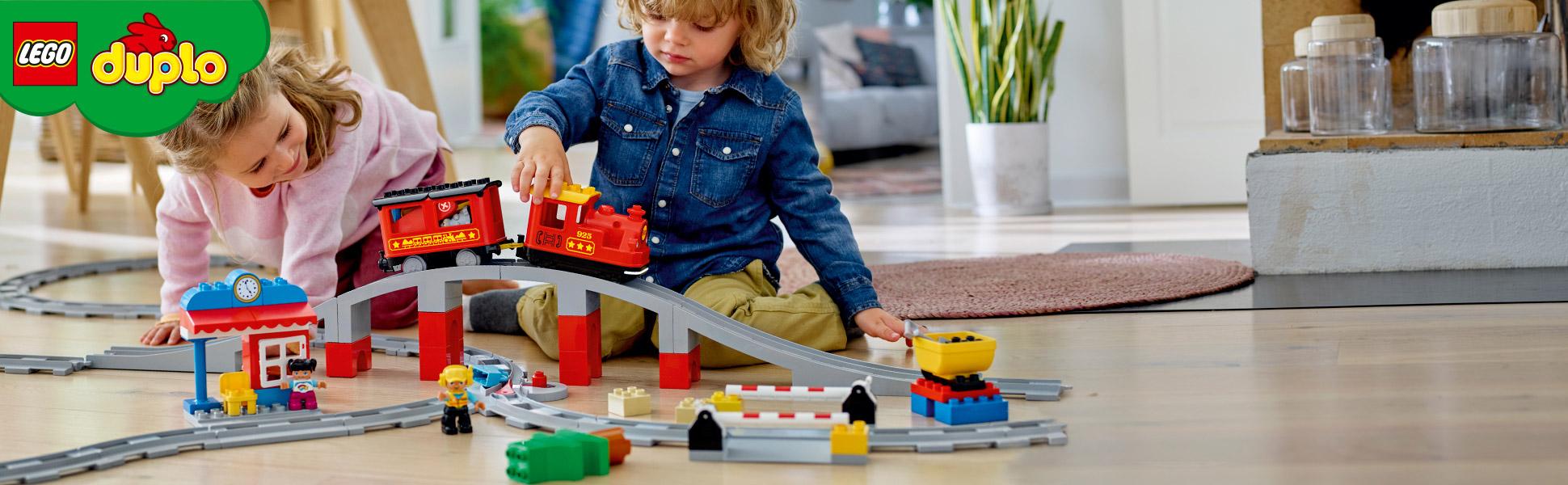 Паровоз LEGO® DUPLO® - Весела іграшка