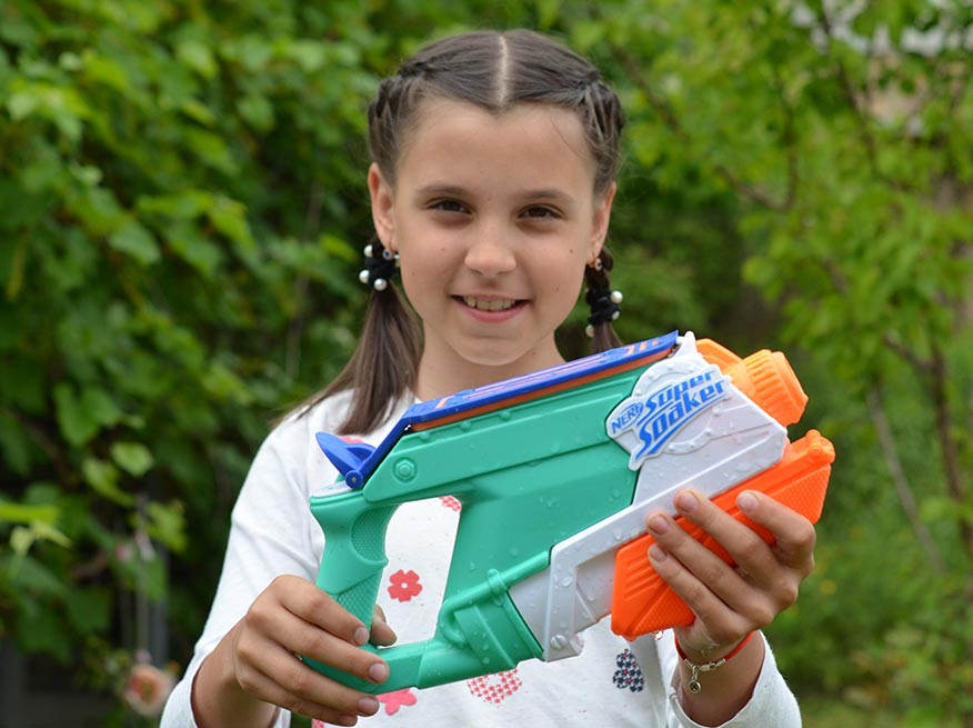 Водяной бластер NERF SplashMouth Super soaker (E0021)