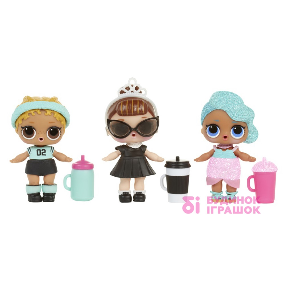 ляльки L.O.L. та поїльники