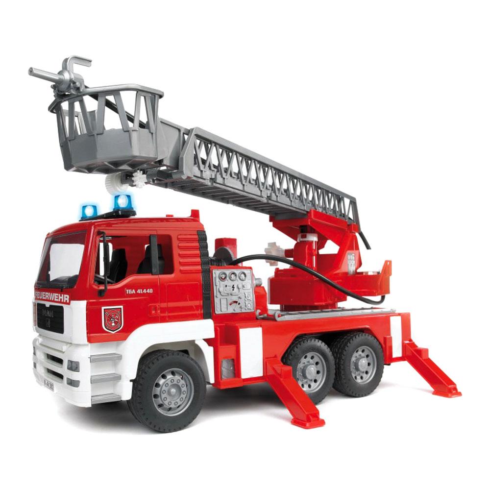 Купить Пожарная Машина С Лестницей Bruder (2771)