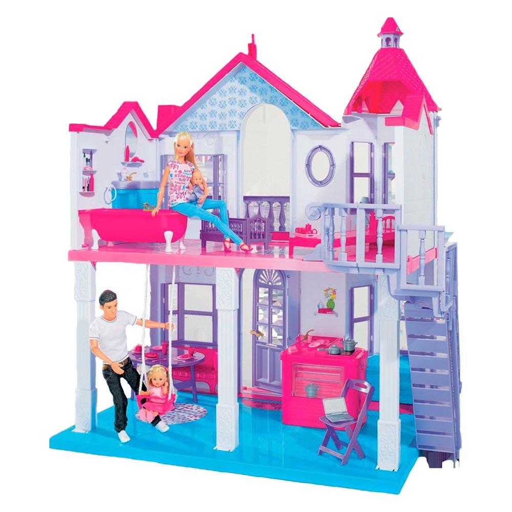 Кукольный домик Steffi Супер-дом (4661996) Steffi & Evi Love