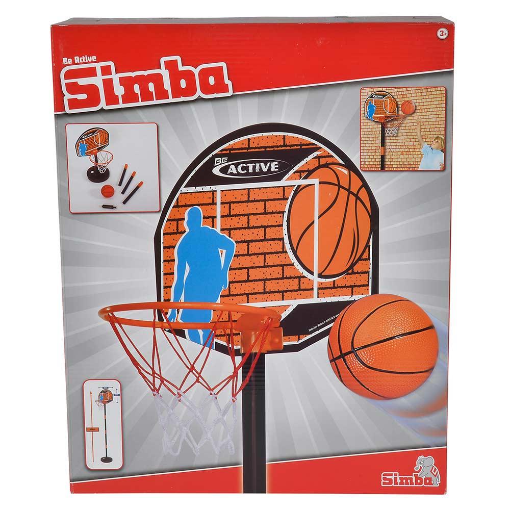 Купить Детские спортивные игры, Игровой набор Баскетбол Simba (7407609)