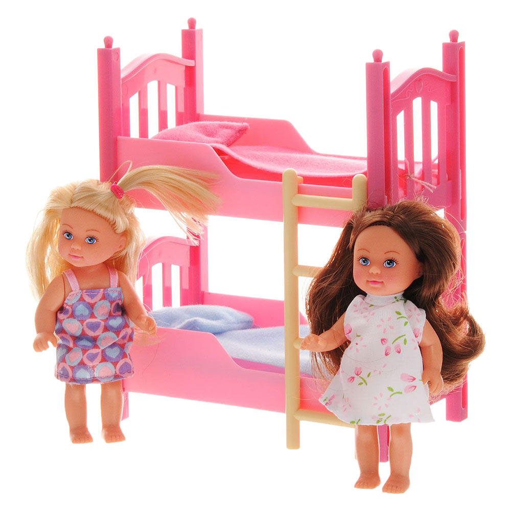 Лялька Єва з двоспальним ліжком Simba 2 шт (5733847) - купити в магазині  дитячих іграшок  Будинок іграшок  b5f6cfd8c9210