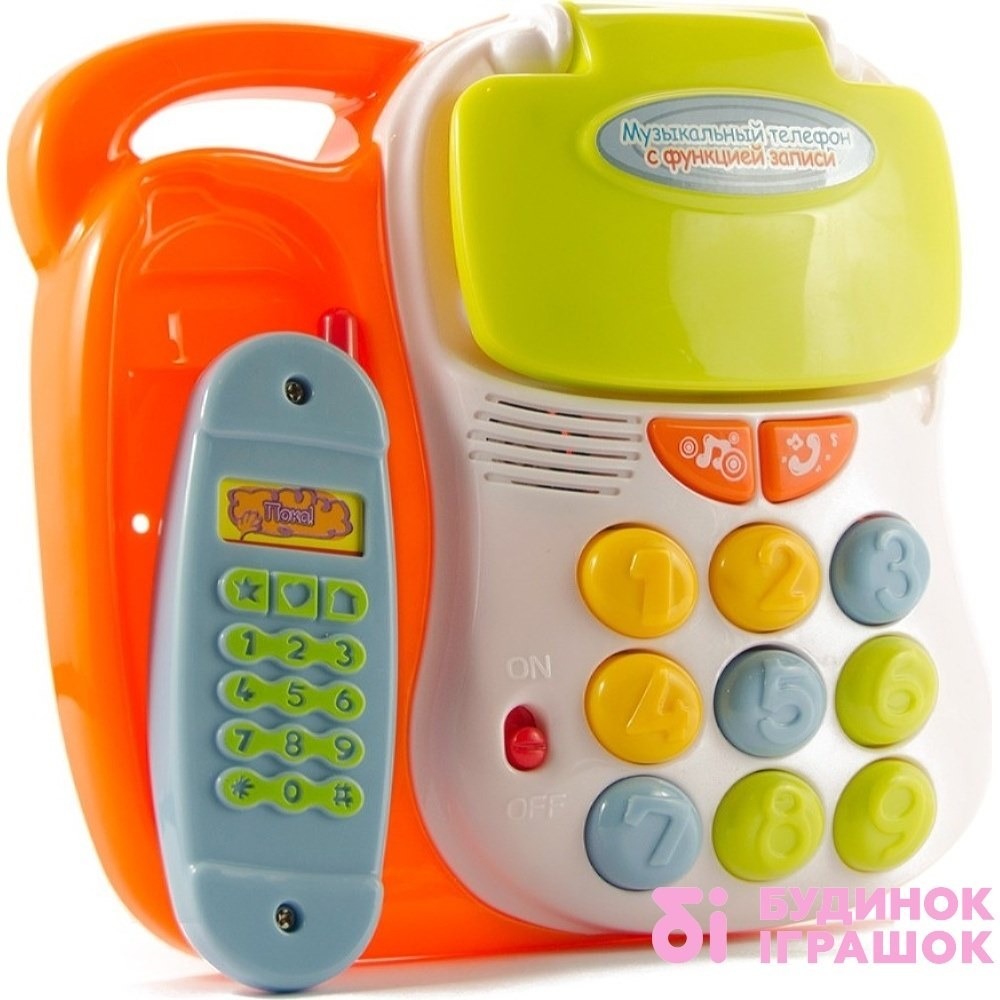 Купить Игрушки для самых маленьких, Игрушка Говорящий телефон MOMMY LOVE (TT13)