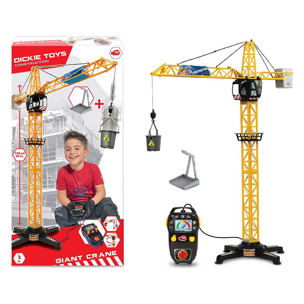 Купить Радиоуправляемые модели, игрушки, Кран башенный на дистанционном управлении (3462411), Dickie Toys