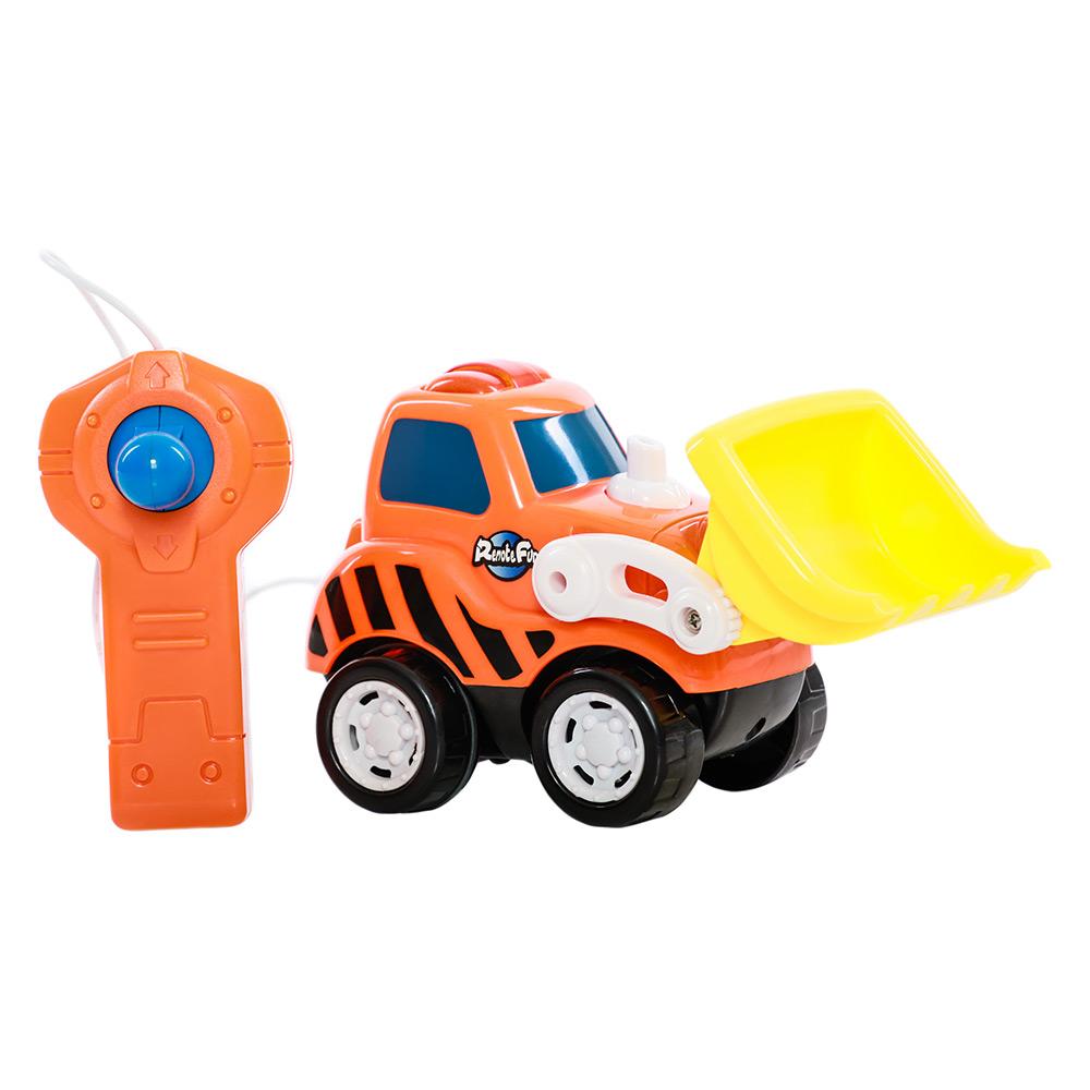 Купить Игрушки для самых маленьких, Бульдозер на дистанционном управлении (2001032), Keenway