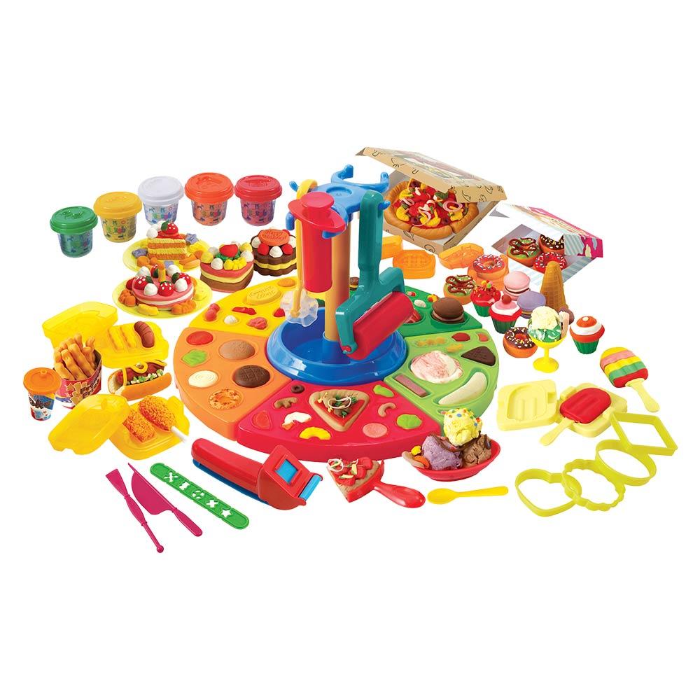 Купить Наборы для творчества и рукоделия, Набор для лепки Playgo Ресторан (8580)