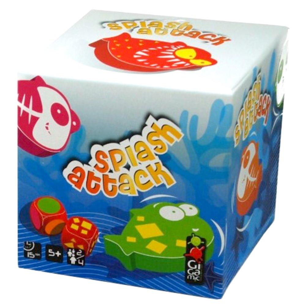 Настольные игры, головоломки, Настольная игра Splash Attack Kids Gigamic (20133)  - купить со скидкой