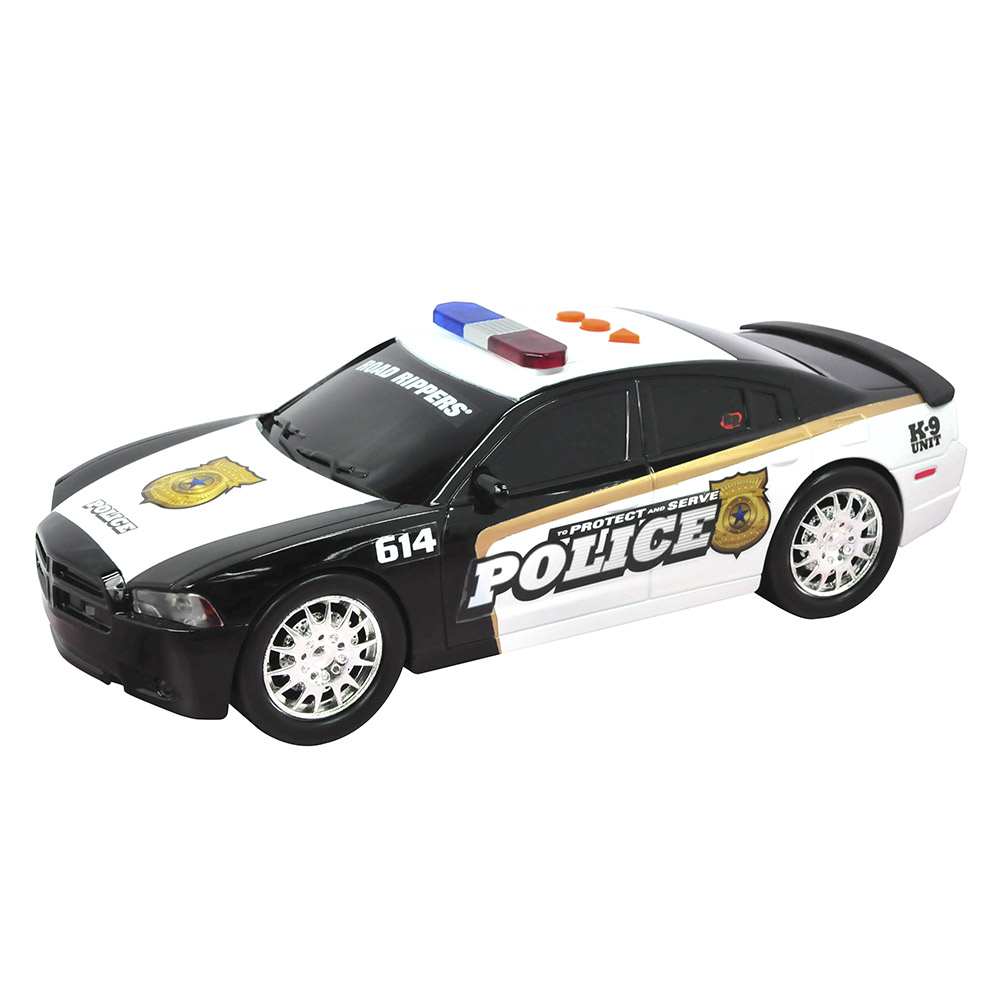Купить Игрушечные машинки, техника, Машина Полицейская CAT Dodge Charger ProtectServe Toy State (34592), Road Rippers