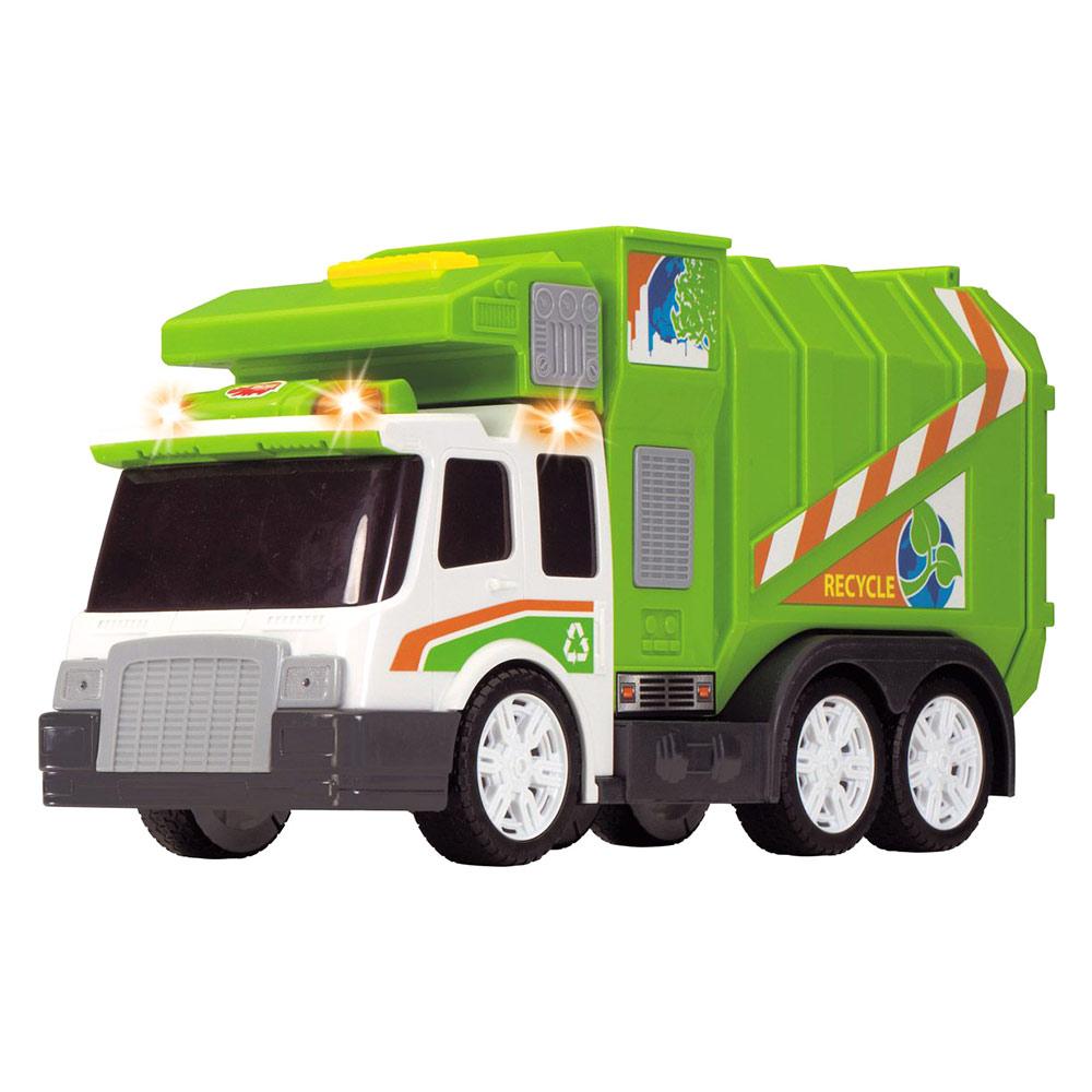 Dickie Toys / Авто Мусоровоз со звуковыми и световыми эффектами (3308357)