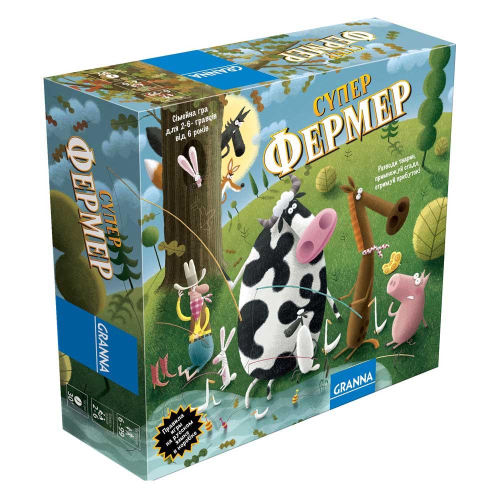 Купить Настольные игры, головоломки, Настольная игра Granna Суперфермер в стиле Ранчо (81756)