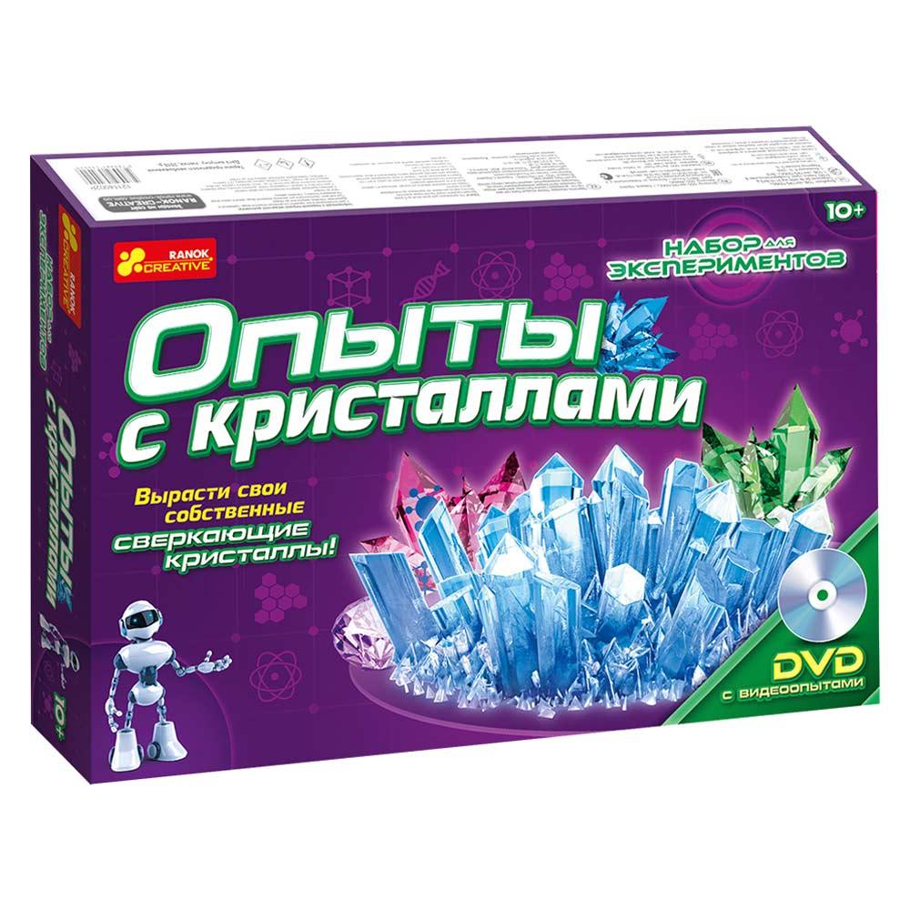 Купить Игровые наборы, Набор для экспериментов Ranok Creative Опыты с кристаллами (12114002Р)