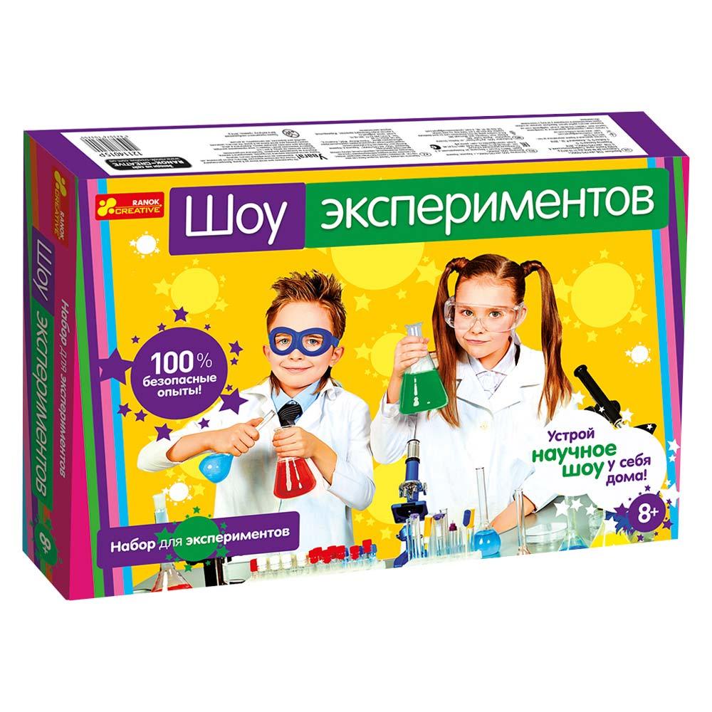 Игровые наборы, Набор для экспериментов Ranok Creative Шоу експериментов (12114022Р)  - купить со скидкой