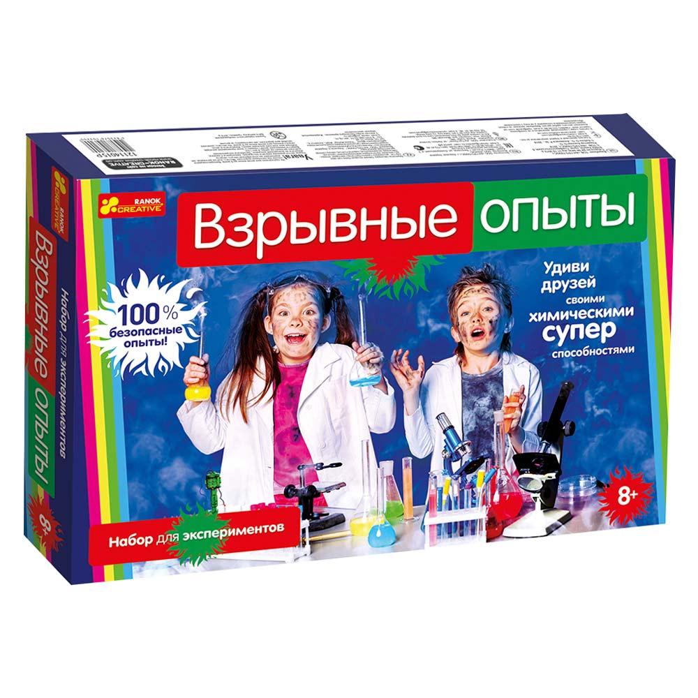 Купить Игровые наборы, Набор для экспериментов Ranok Creative Взрывные опыты (12114023Р)