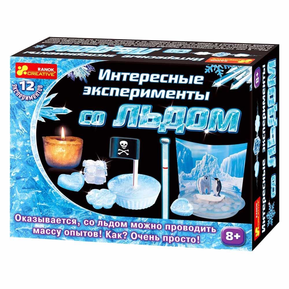 Купить Игровые наборы, Набор для экспериментов Ranok Creative Интересные опыты по льду (12114019Р)