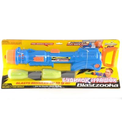 Купить Игрушечное оружие, Помповое оружие Extreme Blastzooka BuzzBeeToys (40103)