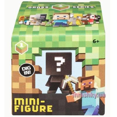 мини фигурка Minecraft сюрприз в закрытой упаковке Cjh36 будинок іграшок купить в
