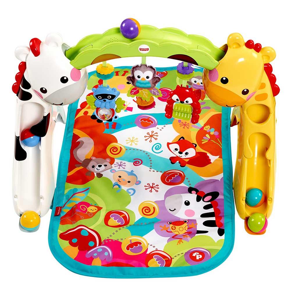 Какие игрушки для новорожденного выбрать