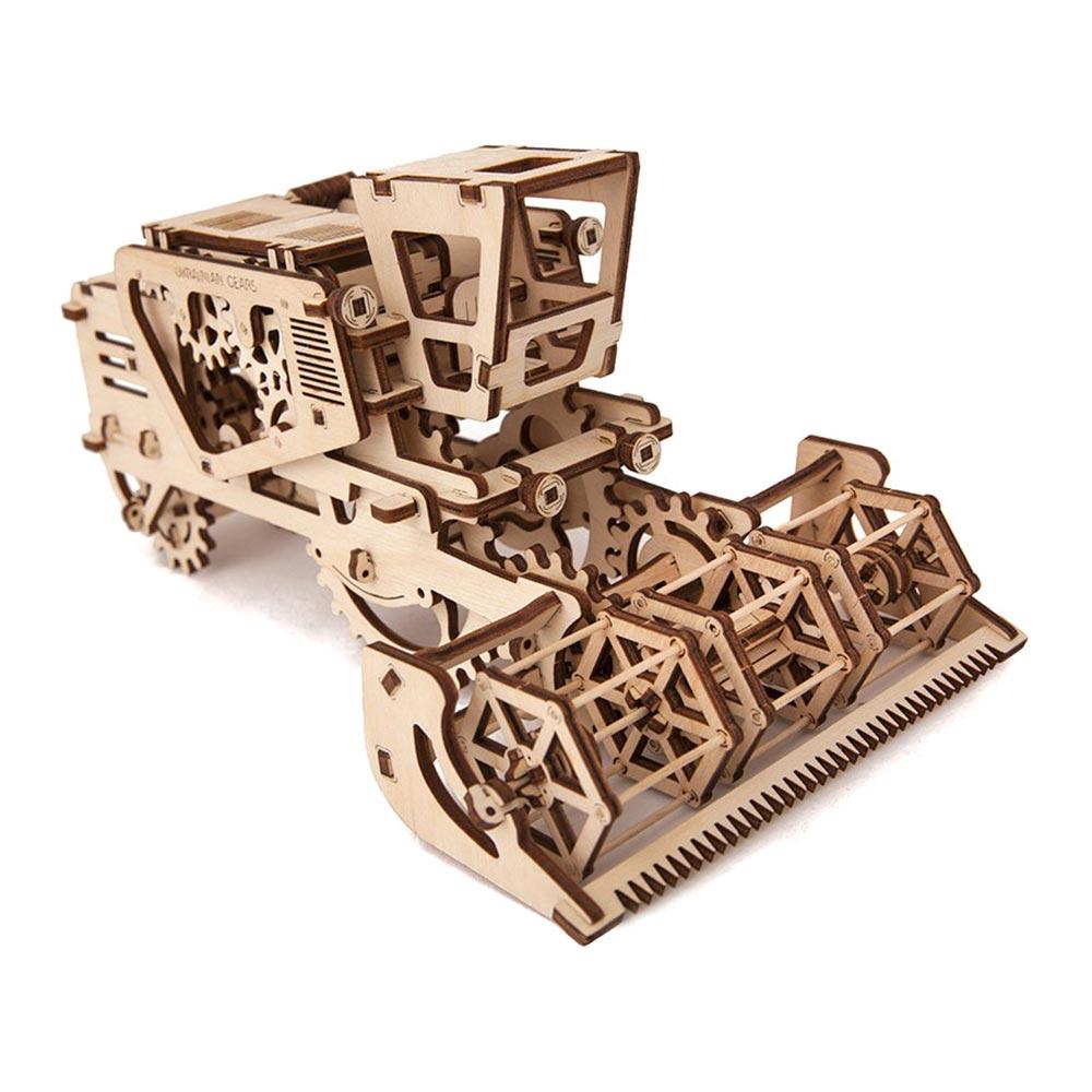 Купить Пазлы, Механический 3D пазл Комбайн Ukrainian Gears (6075906)