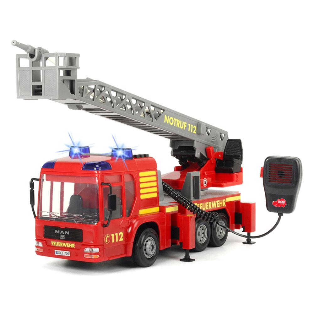 Купить Игрушечные машинки, техника, Машина пожарная со звуковыми световыми и водными эффектами (3716003), Dickie Toys