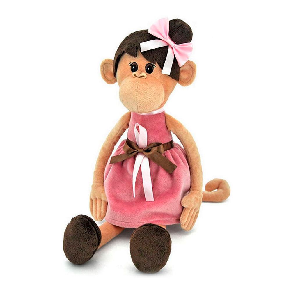 Orange Мавпа Міла в платті із зачіскою 45 см (OS105 28) - купити в магазині  дитячих іграшок  Будинок іграшок  ba229ba422776