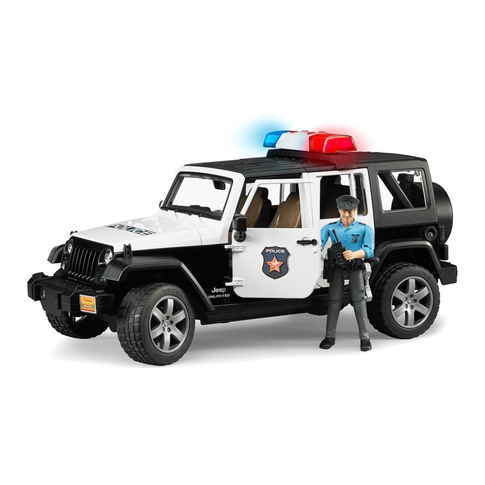 Машинка Bruder Полиция Wrangler unlimited rubicon (2526)