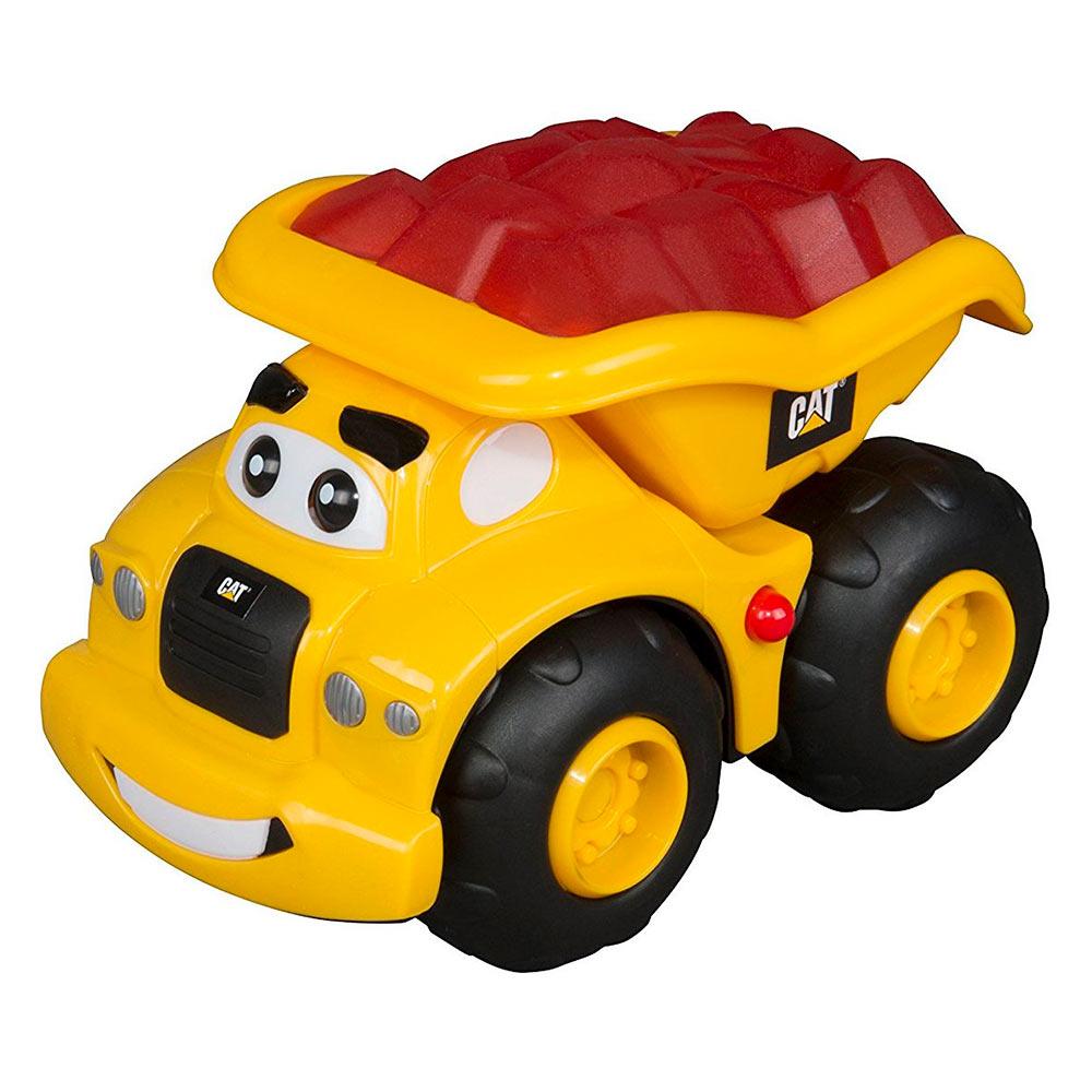 Купить Игрушки для самых маленьких, Игрушка Toy State Самосвал Гарри со светом и звуком 16 см (80411), CAT