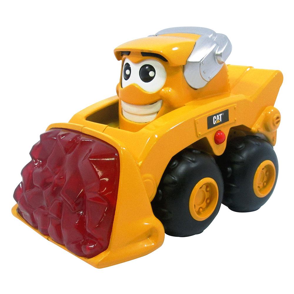 Купить Игрушки для самых маленьких, Игрушка Минипогрузчик Маркус со светом и звуком Toy State 16 см (80412), CAT