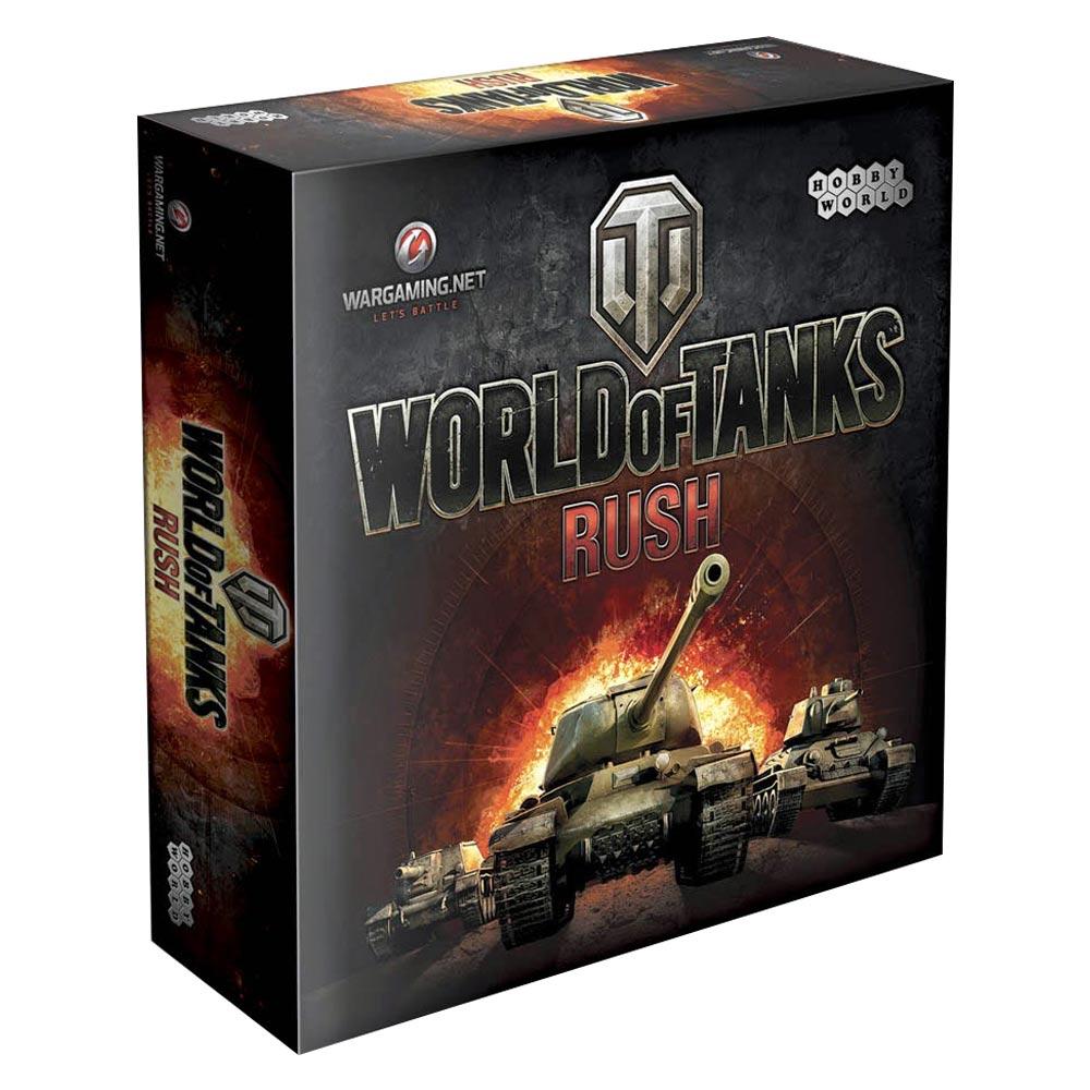 Купить Настольные игры, головоломки, Настольная игра Hobby World World of Tanks Rush (1341)