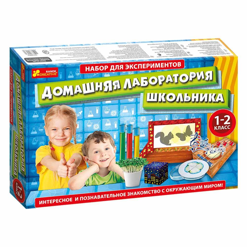 Купить Игровые наборы, Набор для экспериментов RANOK Лаборатория школьника 1-2 класс (12114063Р), Ranok Creative