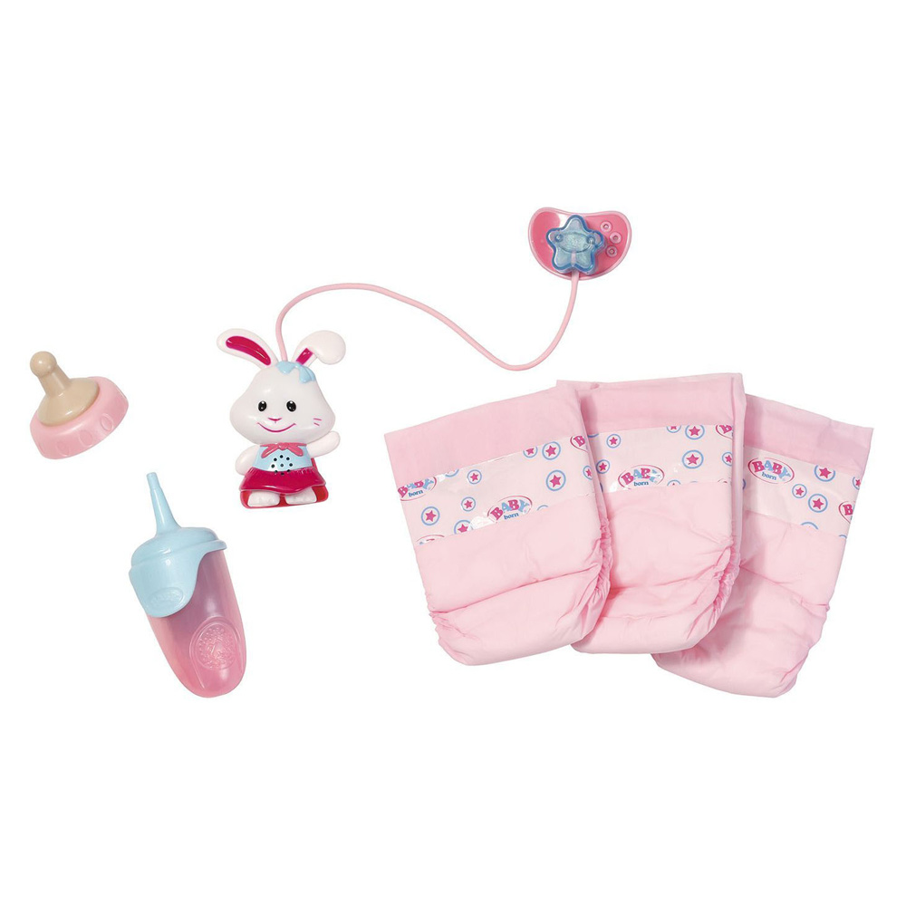 Набір аксесуарів для ляльки BABY BORN дбайливий догляд (821459) - купити в  магазині дитячих іграшок  Будинок іграшок  b3ce93c1f7e03