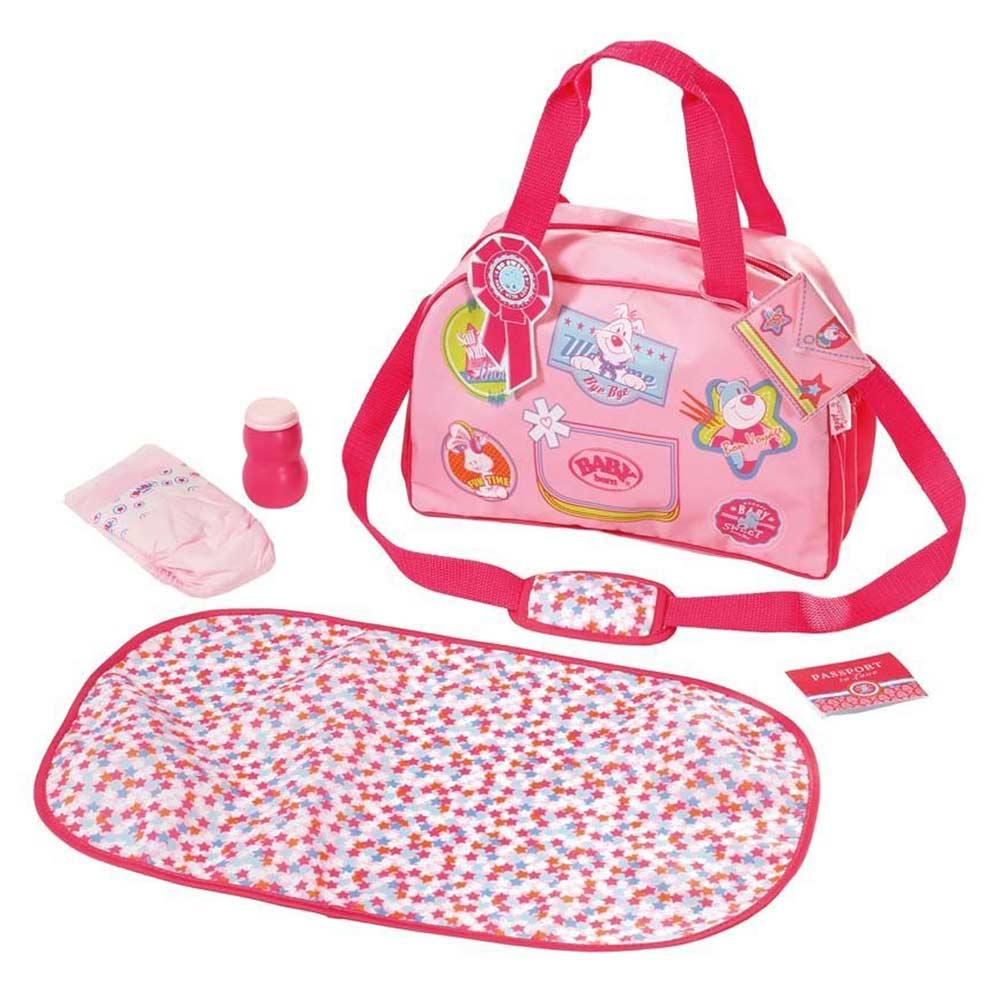 Одяг та аксесуари для пупсів - Сумка з набором для сповивання Модна  прогулянка Baby Born ( 9a538d9288237