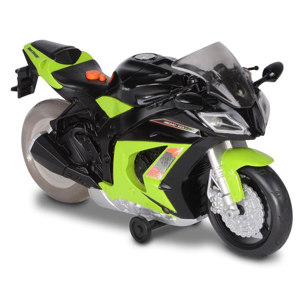 Масштабные модели, Мотоцикл Kawasaki Ninja ZX-10R Road Rippers (33411)  - купить со скидкой