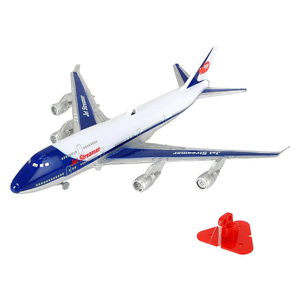 Купить Персонажи мультфильмов, игровые фигурки, Самолет летающий под потолком Jet Streamer (3343004), Dickie Toys