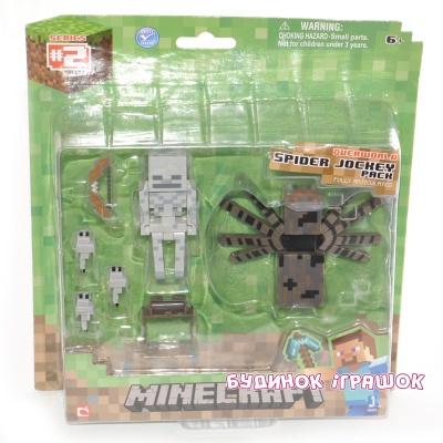 be267c09208a3 Фигурки персонажей - Игровой набор Всадник и паук Minecraft (16451)