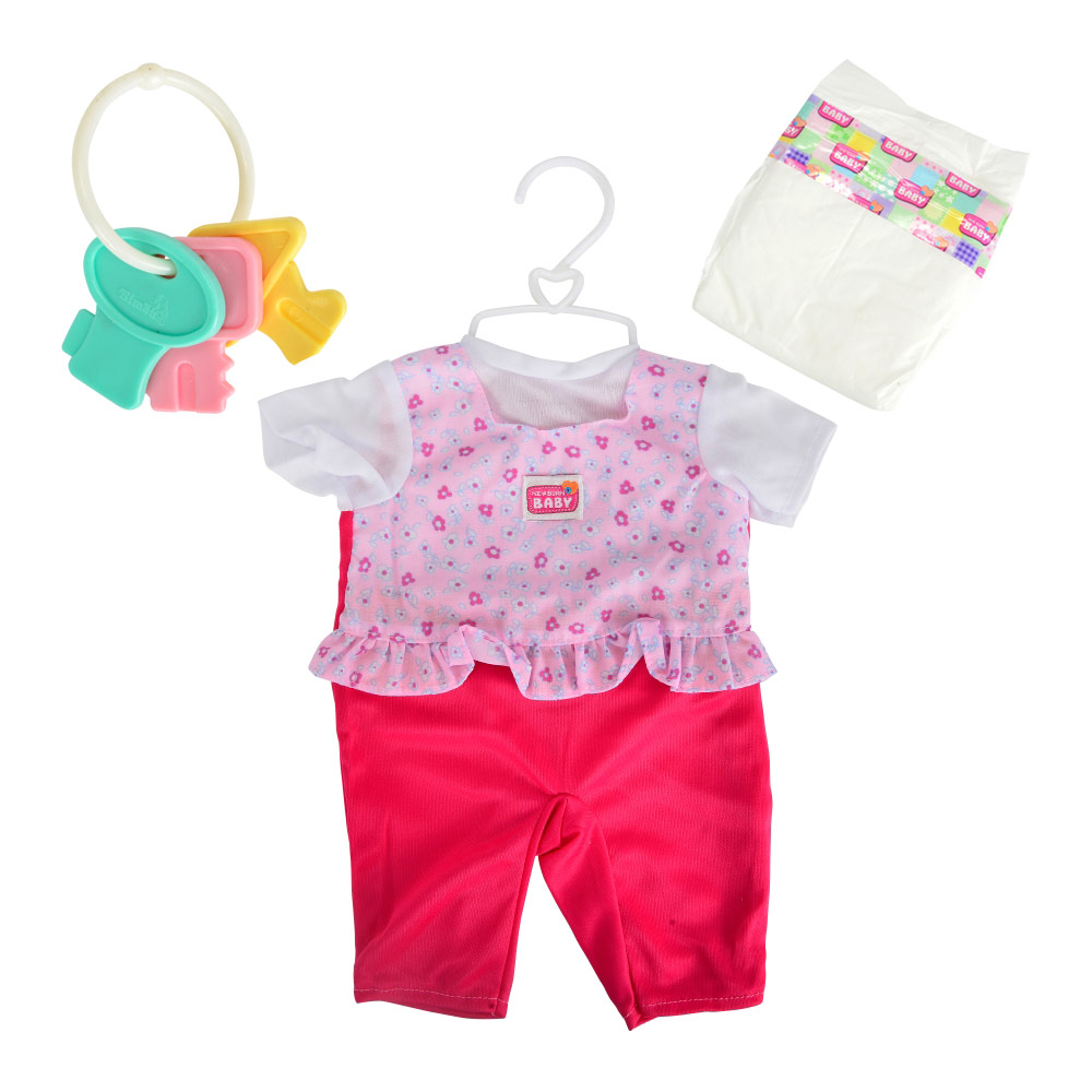 Купить Куклы, наборы для кукол, Набор одежды Simba Комбинезон с мятными штанишками 38-43 см (5401631-2)